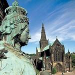 Posvetilo kraljici Viktoriji v Glasgowu, ki je živela na Škotskem v gradu Balmoral. (foto: visitbritainimages)