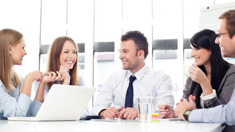 Zadovoljni zaposleni - ključni dejavnik uspešnega podjetja (foto: Shutterstock.com)
