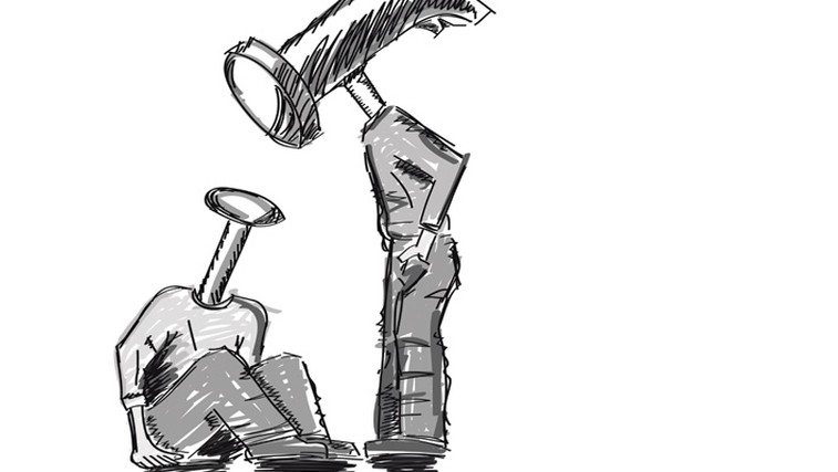 Mobing - pritisk in izsiljevanje na delovnem mestu (foto: Shutterstock.com)