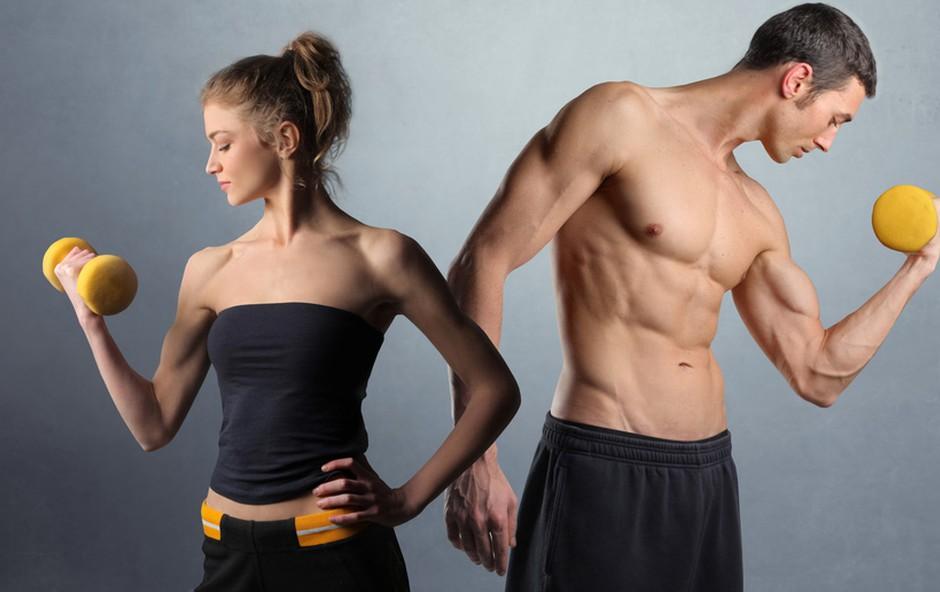 Mišice - glavni topilec maščob (foto: Shutterstock.com)