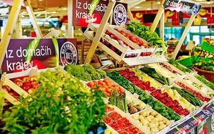 Mercatorjeva tržnica - lokalno in sveže na policah trgovin
