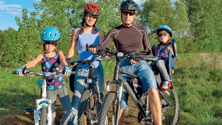 Kolesarske ture za vso družino (foto: Shutterstock.com)