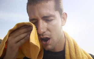 Kako ravnati v vročini?