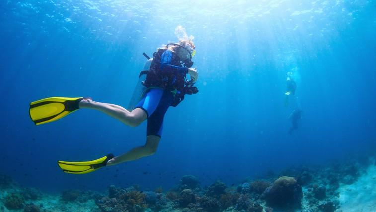 Potapljanje - pravo adrenalinsko doživetje (foto: Shutterstock.com)