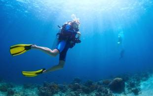 Potapljanje - pravo adrenalinsko doživetje