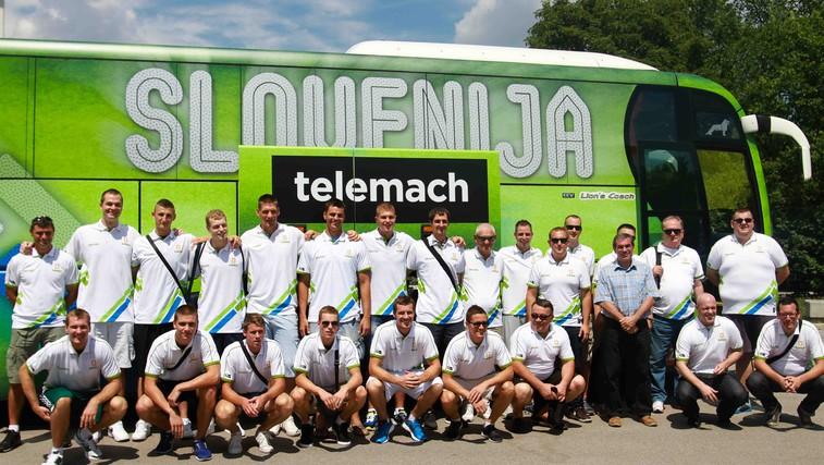 Slovenci začeli priprave na Eurobasket (foto: Goran Antley)
