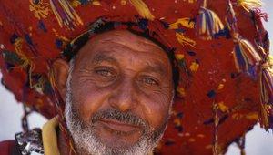 Lokalni ribič na maroški obali.