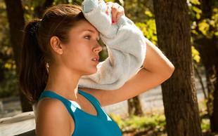 Hiperhidroza - prekomerno potenje, ki lahko skriva bolezen