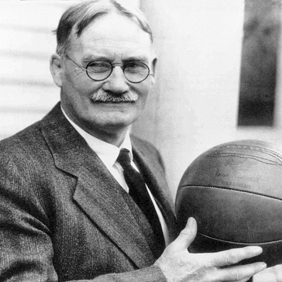 Dr. James Naismith, izumitelj košarke