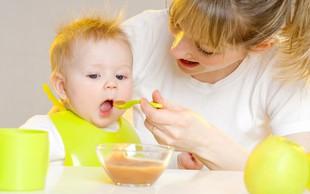 Dojenčki ne poznajo sladkih in slanih okusov