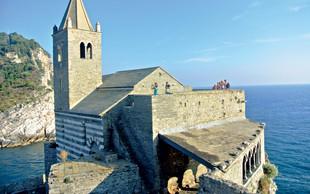 Porto Venere - malo slikovito mestece na italijanski ligurijski obali