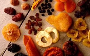 Suho sadje - le navidezno zdravo?