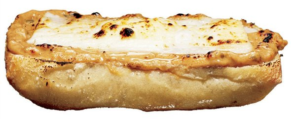 Mandljev sendvič brez pokrova