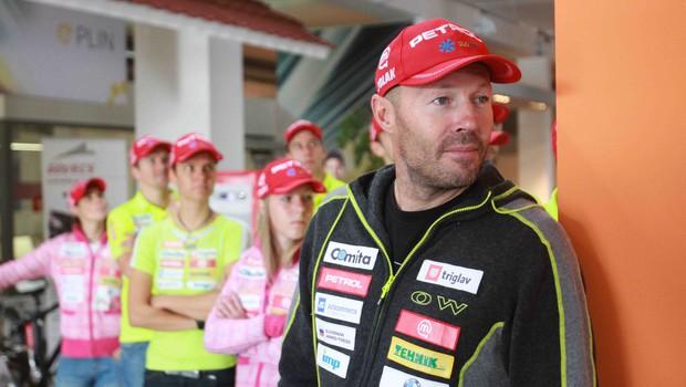 Uroš Valepec, glavni trener (foto: Goran Antley)