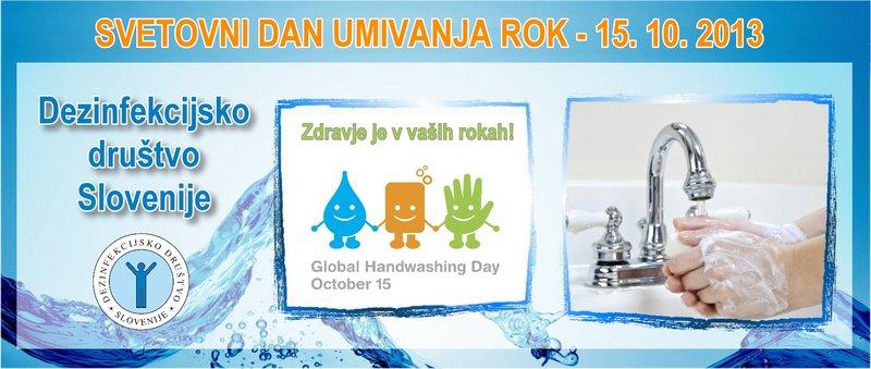 Svetovni dan umivanja rok, 15. 10. 2013