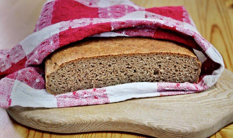 Pirin polnozrnati hitri kruh