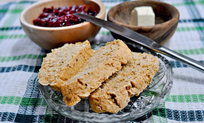 Začimbni kruh brez kvasa