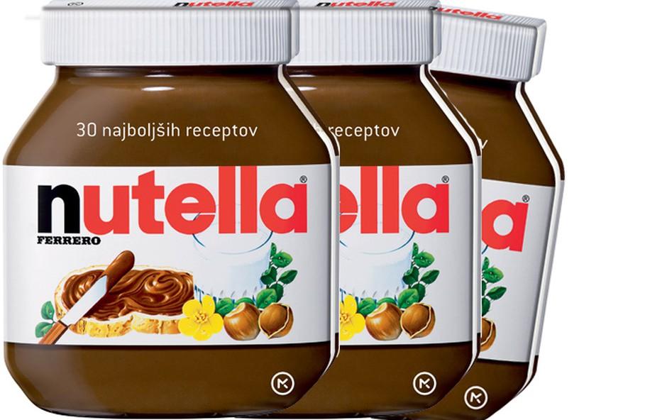 Osvojite knjigo najboljši receptov z Nutello! (foto: Promocijsko gradivo)