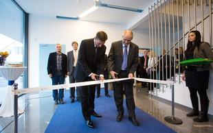 Predsednik RS Borut Pahor otvoril nov center za testiranje in razvoj programov @life