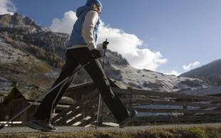 Nordijska hoja kot priprava na smučarski tek