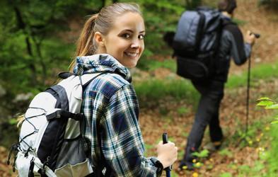 Najpogostejše napake pri nordijski hoji