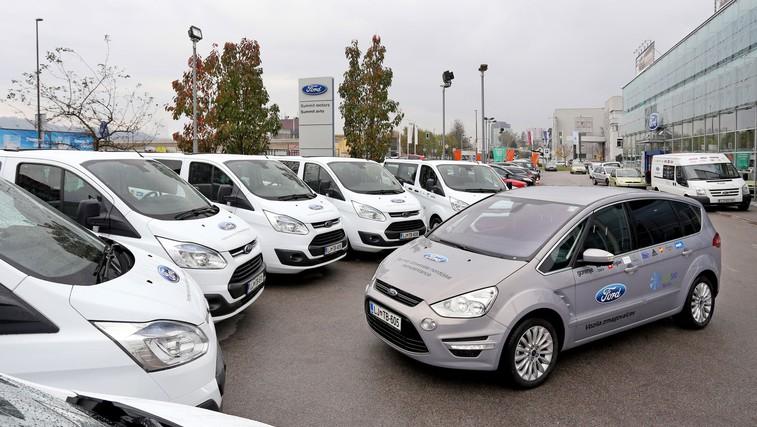Fordova vozila za nordijsko reprezentanco (foto: Ford)