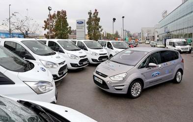 Fordova vozila za nordijsko reprezentanco