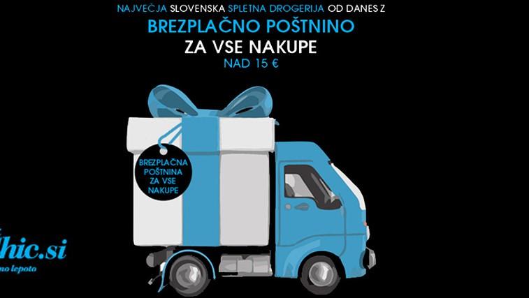 Največja slovenska spletna drogerija zdaj brez poštnine! (foto: Promocijsko gradivo)