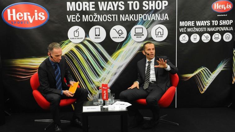 Hervis s projektom večkanalne prodaje širi svoj uspešen poslovni model (foto: Promocijsko gradivo)