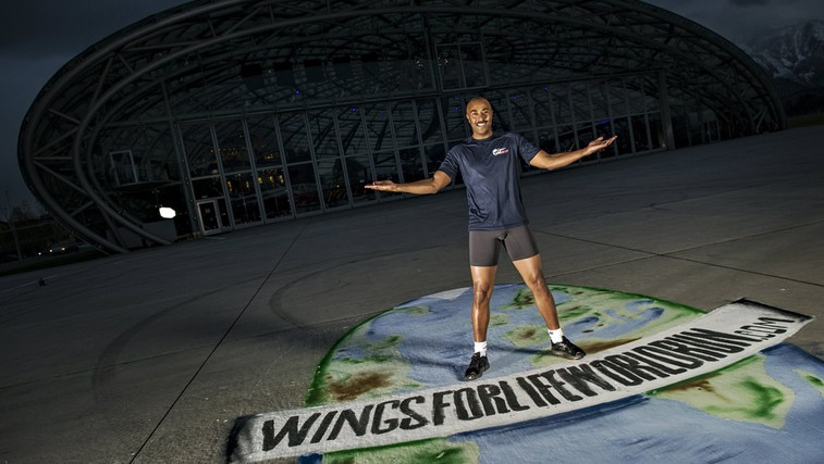 Colin Jackson (foto: Wings For Life)