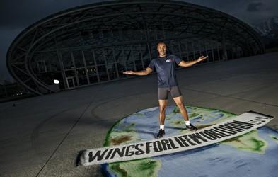 Colin Jackson v podporo akciji Wings For Life World Run