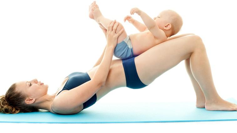 Kakšna naj bo (telo)vadba takoj po porodu (foto: Shutterstock.com)