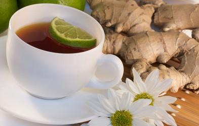 Ingverjev čaj ublaži nadležen kašelj