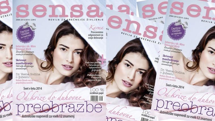Izšla je zimska številka revije Sensa (foto: Arhiv revije Sensa)