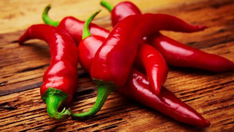Čili - ostro in pekoče za zdravo zimo (foto: Shutterstock.com)