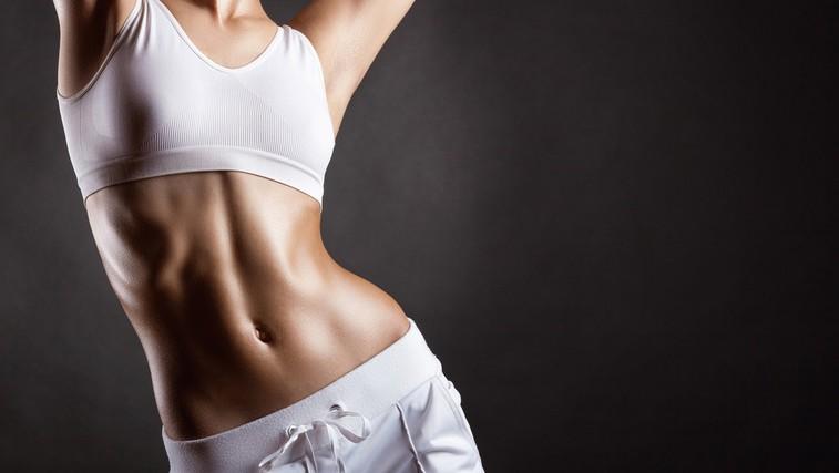 Trebušne mišice se izklešejo v kuhinji, in ne na  fitnesu! (foto: Shutterstock.com)