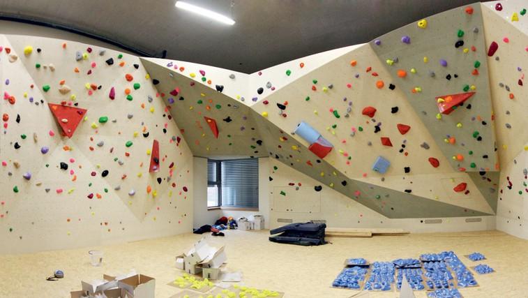 Prvi športno-plezalni center v Ljubljani
