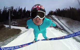 Skočite z olimpijskim skakalcem Andersom Jacobsenom
