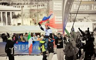 Žan Košir prevzel vodstvo v skupnem seštevku svetovnega pokala