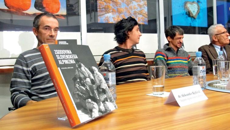 Podarjamo knjigo: Zgodovina slovenskega alpinizma