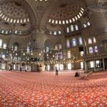 Notranjost Modre mošeje (foto: profimedia)