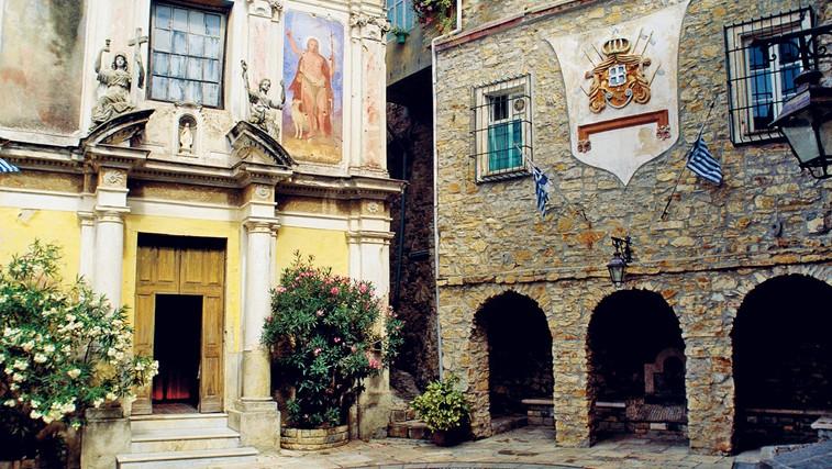 Kneževina Seborga v italijanski Liguriji (foto: revija Lisa)