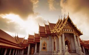 Bangkok prestolnica jugo-vzhodne Azije
