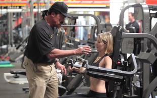 Arnold Schwarzenegger pod krinko deli fitnes nasvete