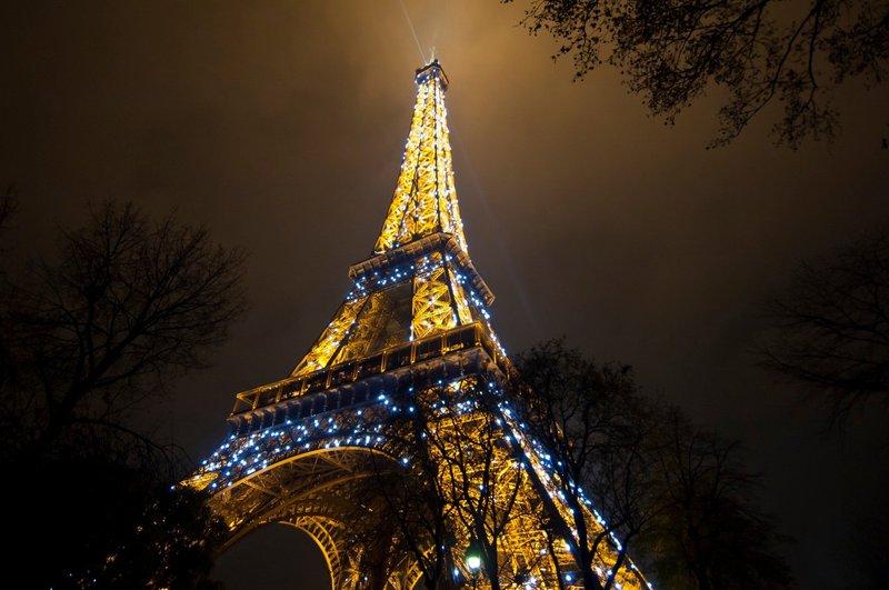 Eifflov stolp, Pariz, Francija