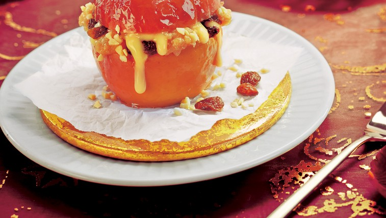 Polnjena pečena jabolka (foto: stockfood photo)