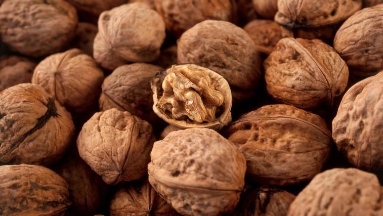 Najljubša hrana možganov: orehi (foto: Profimedia)