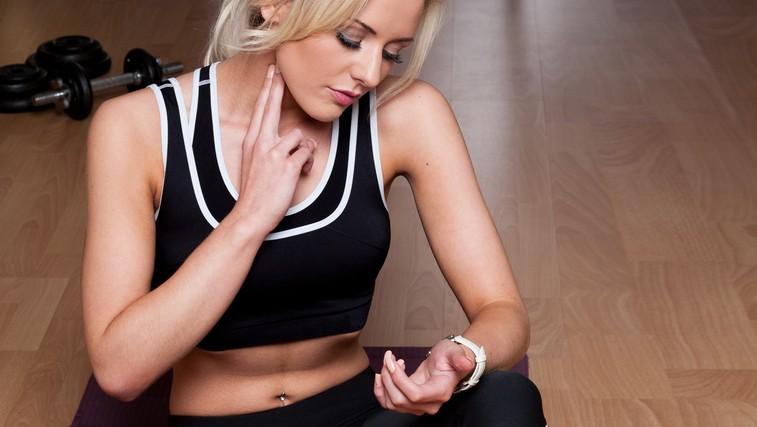 Kako na podlagi srčnega utripa oblikovati trening (foto: Shutterstock.com)
