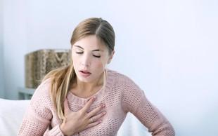 Kako zdrava so vaša pljuča in srce?
