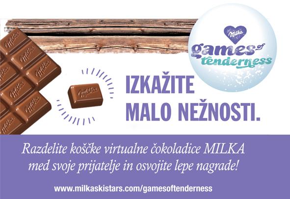 Milka Games of Tenderness nagradna igra